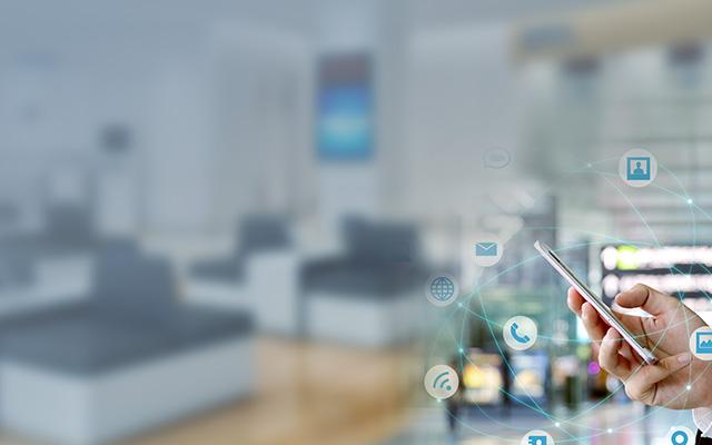 金融网点来宾无线营销解决方案