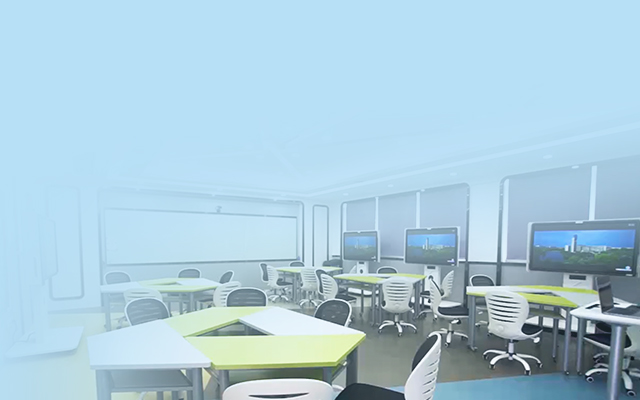 VR参观 看智慧教室助力金课打造