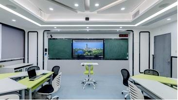 广州大学-智慧教室VR体验