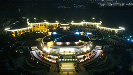 博鳌亚洲论坛闪耀世界  澳门合法彩票成为夜景之光背后功臣