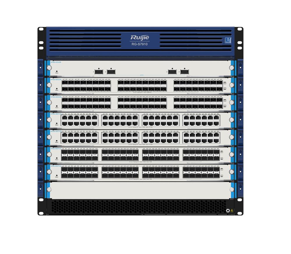 RG-S7910E系列新一代城域网汇聚交换机