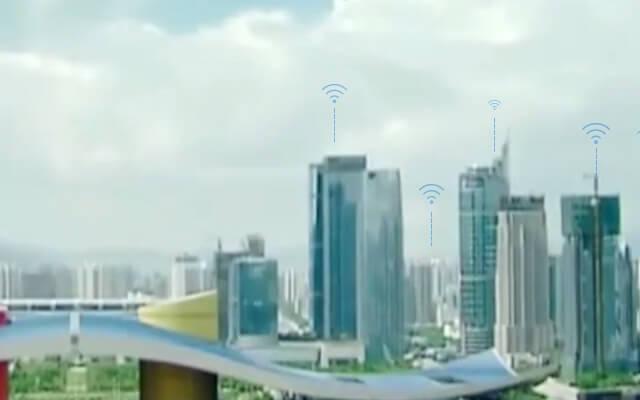 锐捷网络无线城市解决方案